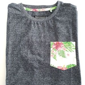 🆕️Hawaiian gray shirt